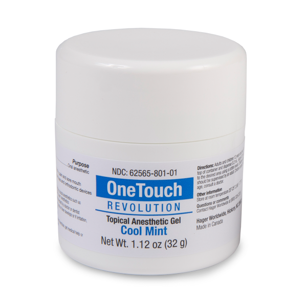 One Touch Revolution Topical Anesthetic Gel