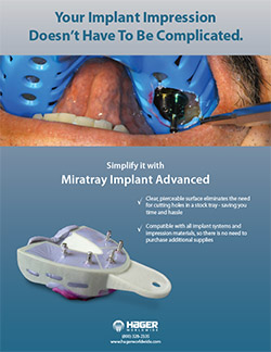 MiraTray Implant Advanced - Hager Worldwide